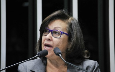 Senadora Lídice da Mata, relatora, apresenta parecer favorável